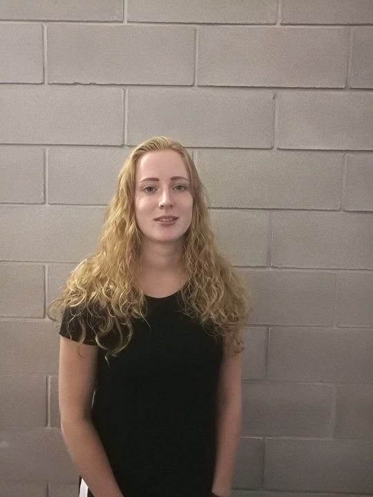 Wilma Postma, Erasmus student, Netherlands