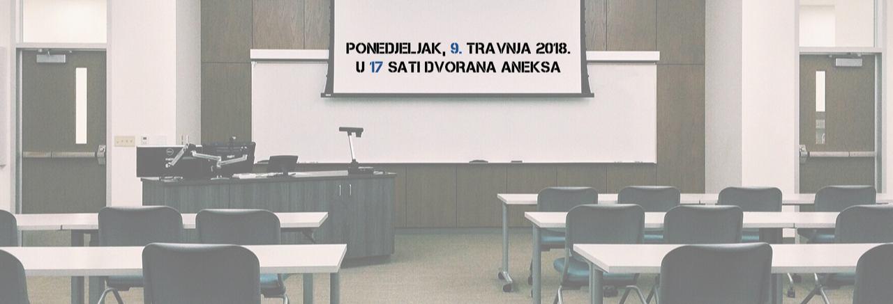 Predavanje dr. sc. Borisa Jokića