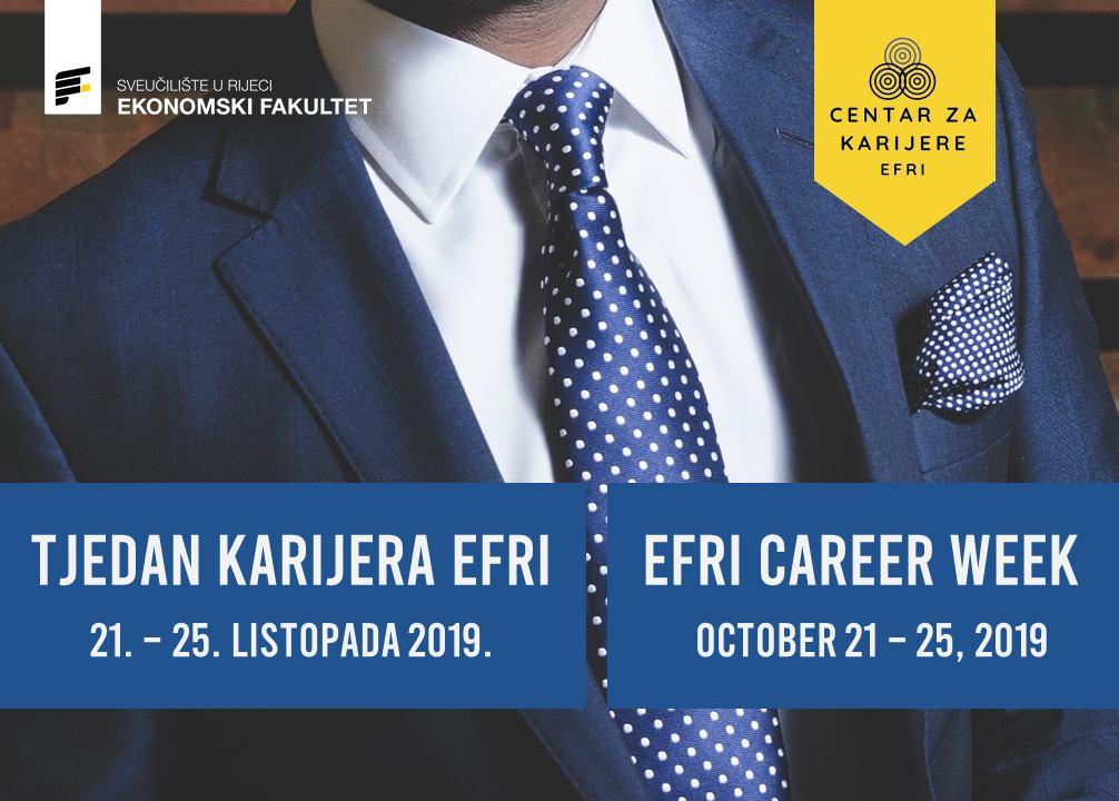 EFRI Career Week (October 21 – 25, 2019)