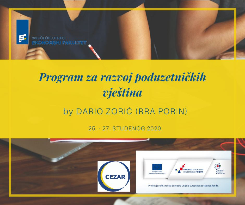 Program za razvoj poduzetničkih vještina