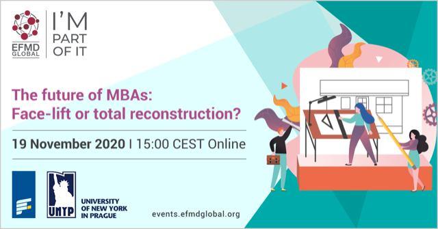 The future of MBAs: Face-lift or total reconstruction? - prof. Saša Žiković