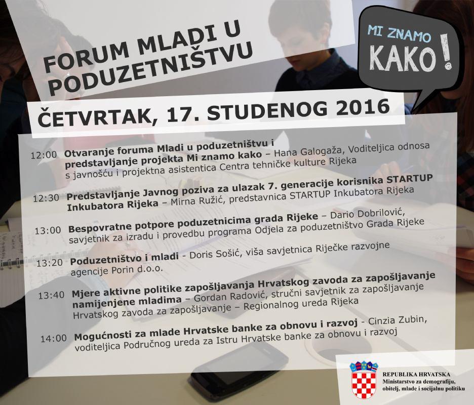 Forum Mladi u poduzetništvu