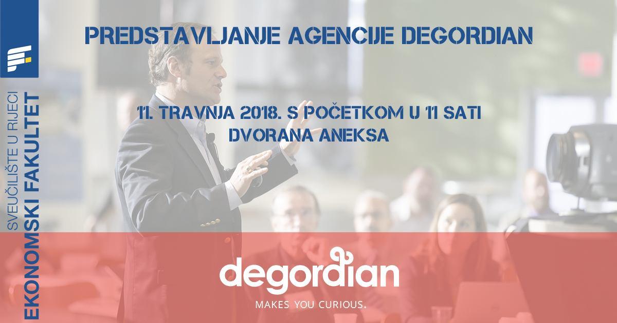 Predstavljanje digitalne agencije degordian Hrvatska d.o.o.