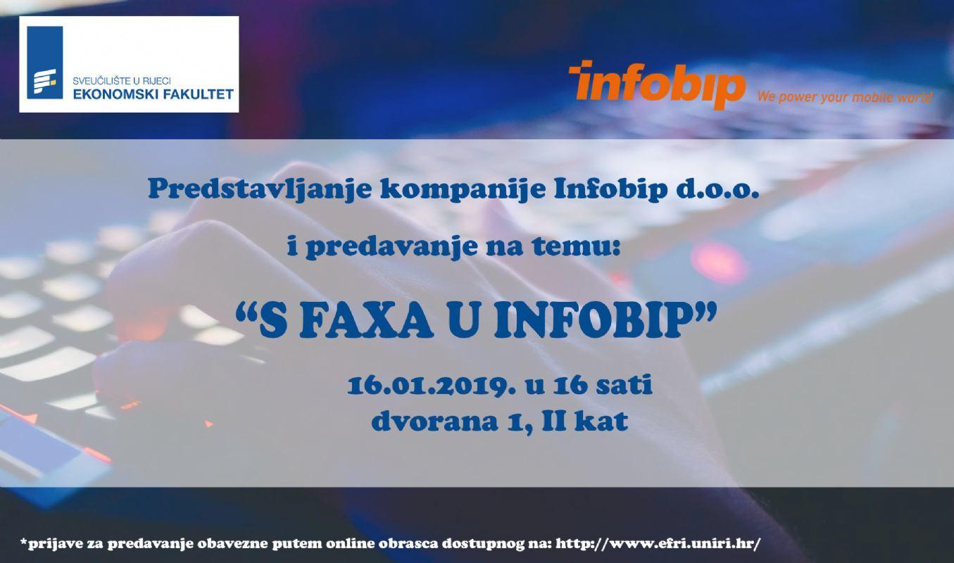 Presentation of the company Infobip d.o.o.