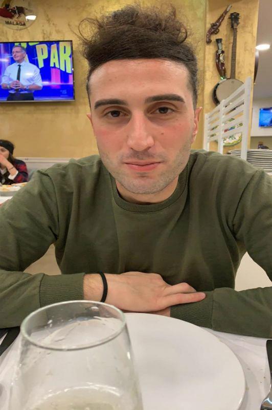 Nico Rosamilia, PhD student, Italy