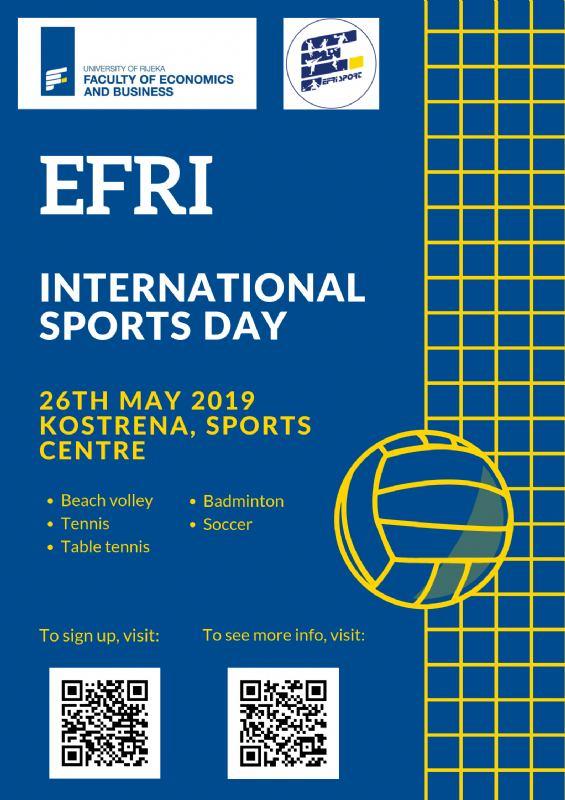 EFRI International Sports Day