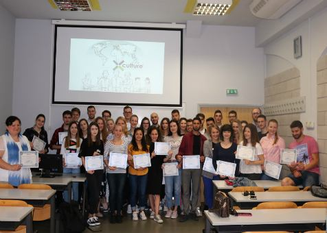 Most successful participants of X-Culture project