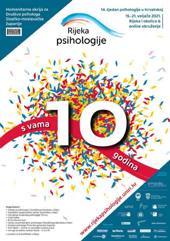 Počinje deseta Rijeka psihologije