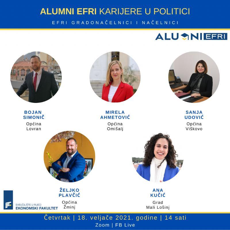 ALUMNI EFRI karijere u politici – gradonačelnici i načelnici