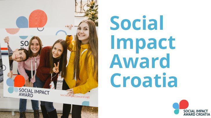 Social Impact Award Croatia - OTVORENE PRIJAVE ZA NATJECANJE!