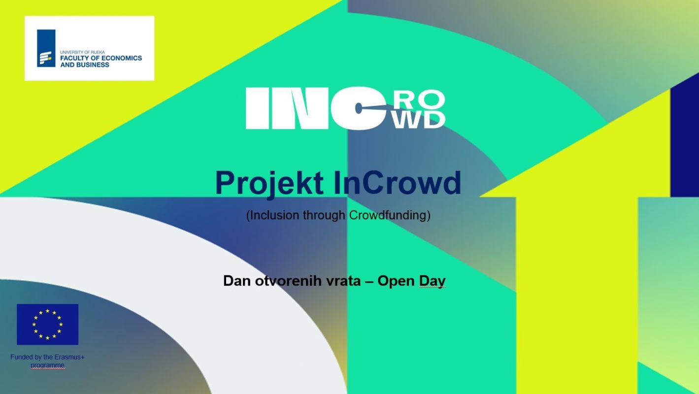 InCrowd projekt – ostvari svoje poduzetničke projekte