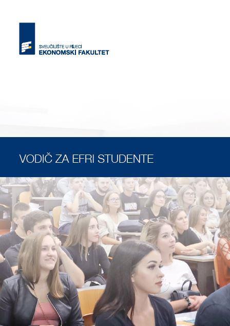 Dostupan novi Vodič za EFRI studente!