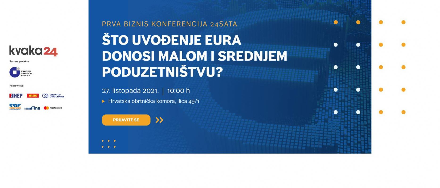 Besplatni prijevoz za EFRI studente na biznis konferenciju Kvaka 24!